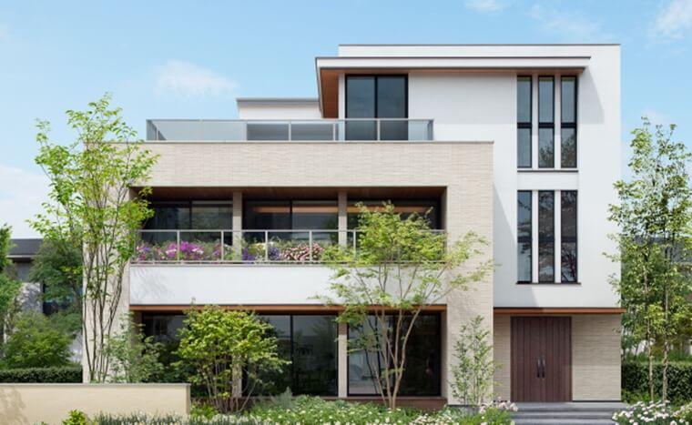 住友林業の3階建て住宅「PROUDIO」