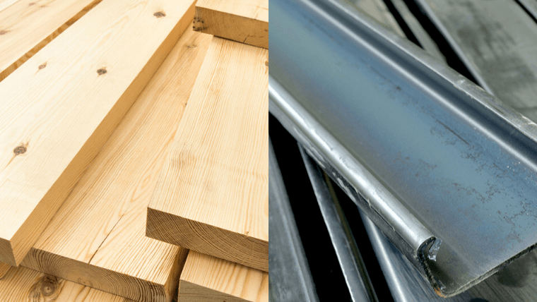 木造住宅と鉄骨住宅を比較