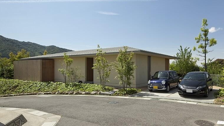 積水ハウスの木造平屋建て「里楽」