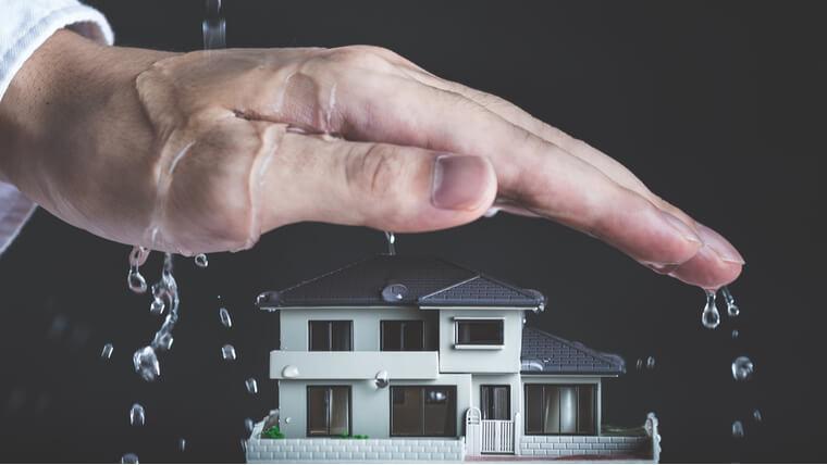 注文住宅と台風