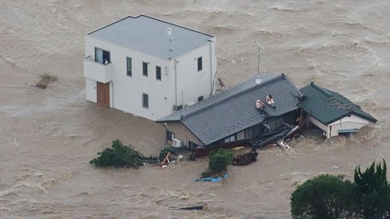 鬼怒川決壊のヘーベルハウス
