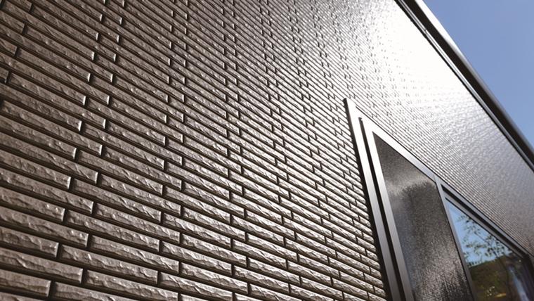 「キラテック」はメンテナンスフリー外壁