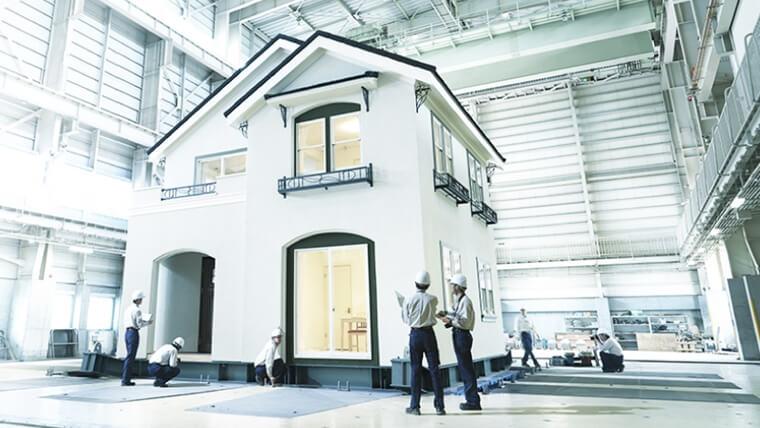 三井ホームの耐震実験