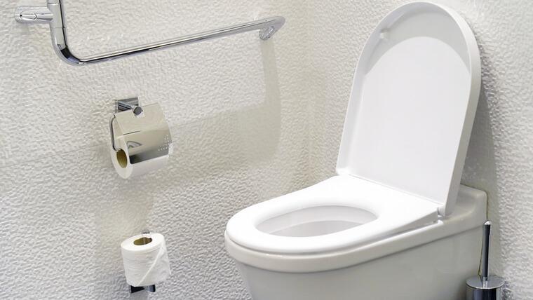 2階にトイレ