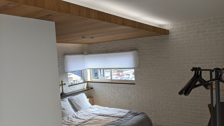 セキスイハイムの寝室