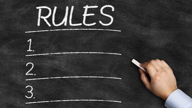 「一条ルール」による自由度の低さ