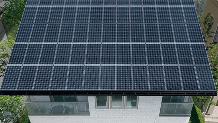 大容量の「太陽光発電システム」