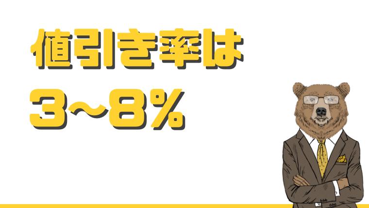 ハウスメーカーの値引き率は総額の3~8%