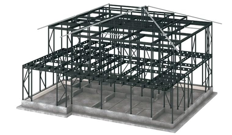 パナソニックホームズの軸組制震構造