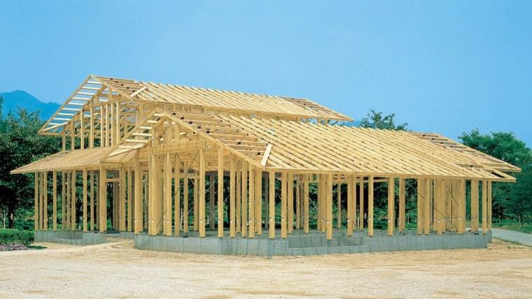 積水ハウスの木造「シャーウッド構法」